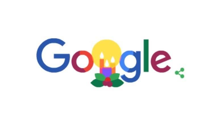 Google muestra un doodle navideño para arrancar celebraciones de fin de año
