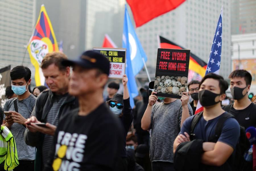 Hong Kong se prepara para protestas en Navidad