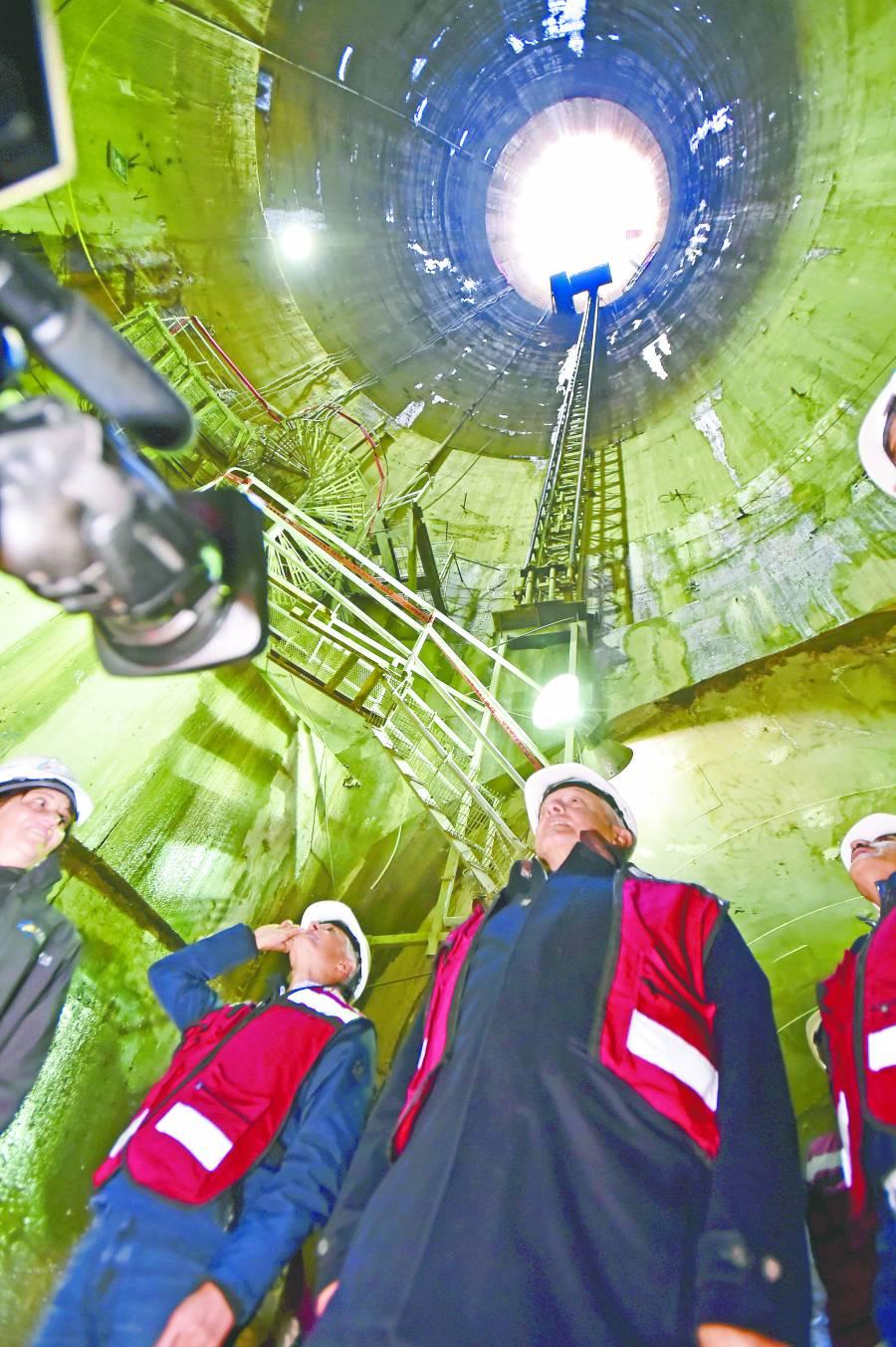 Tras 11 años de construcción, inauguran Túnel Emisor Oriente