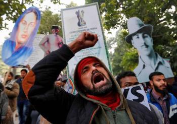 India prohíbe manifestaciones en Nueva Delhi