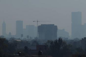 Niveles de contaminación llegan a 167 puntos
