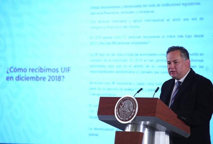 La UIF no persigue a nadie: Nieto Castillo