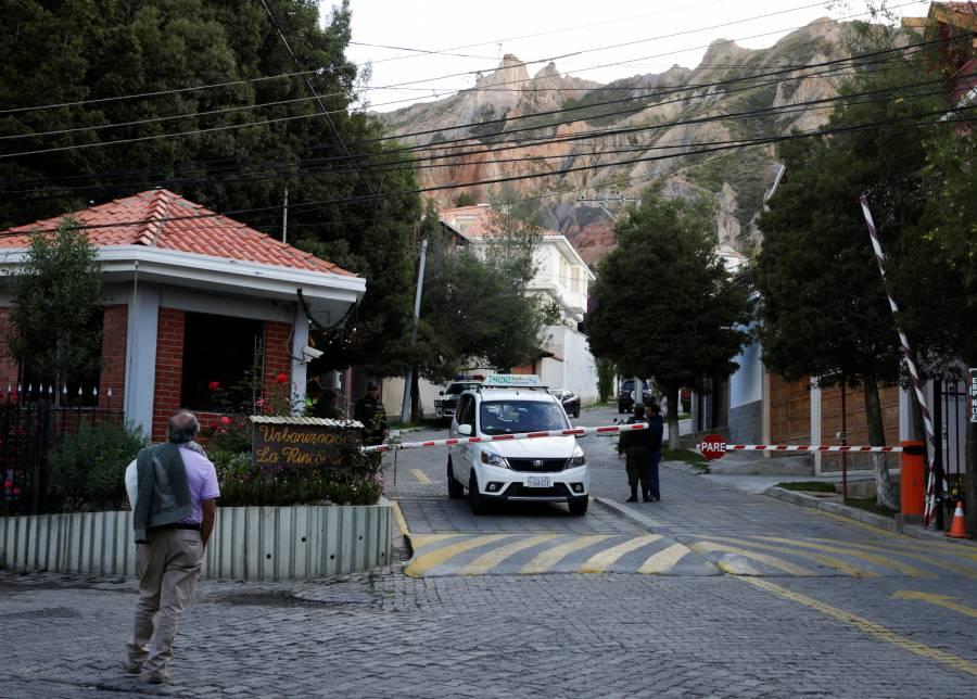 SRE informa de incidente fuera de Residencia de México en Bolivia