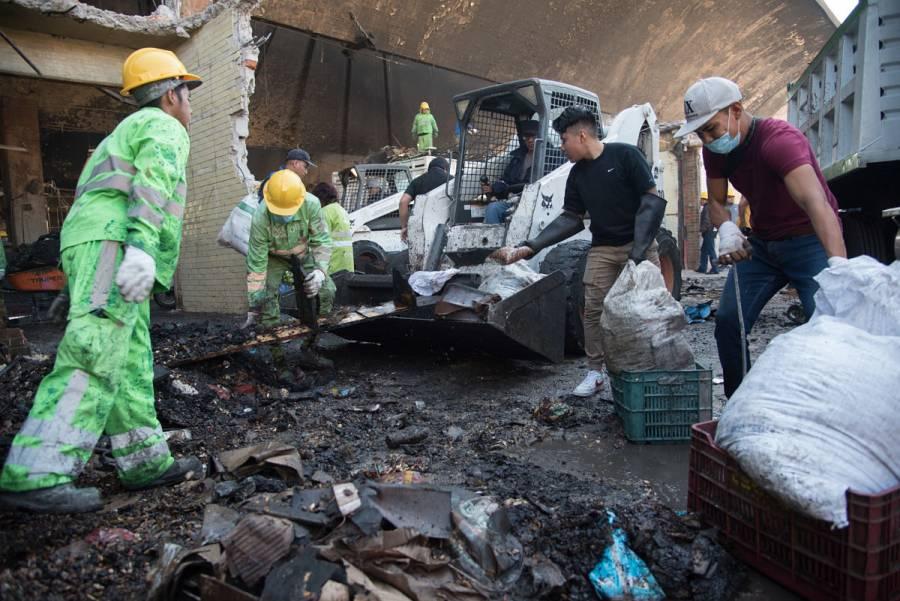 Por seguridad, suspenden trabajos de limpieza en La Merced