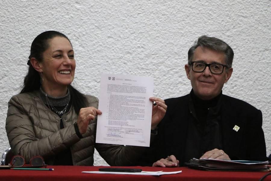 Logran acuerdos para pagos de la comunidad artística en CDMX