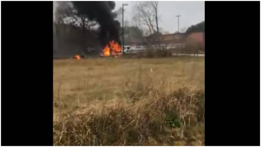 Avioneta se estrella en Luisiana y  cinco personas mueren