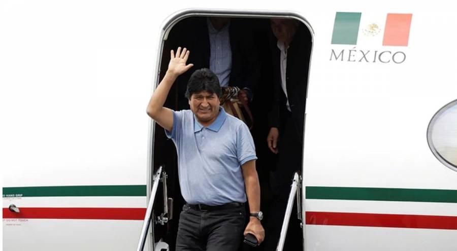 Sedena reserva la bitácora del avión que trajo a Evo Morales por 5 años