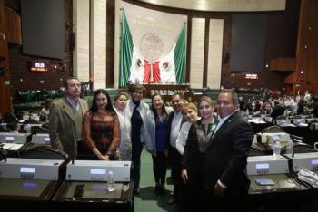 Diputados del PRD celebra que reconoce la violación a la ley por parte  de los Servidores de la Nación