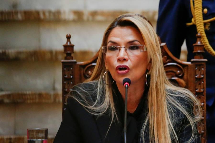 """Jeanine Añez: """"No toleraremos el abuso de los gobiernos de México y España"""""""