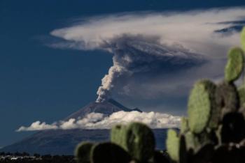 Registró el Popocatépetl 146 exhalaciones