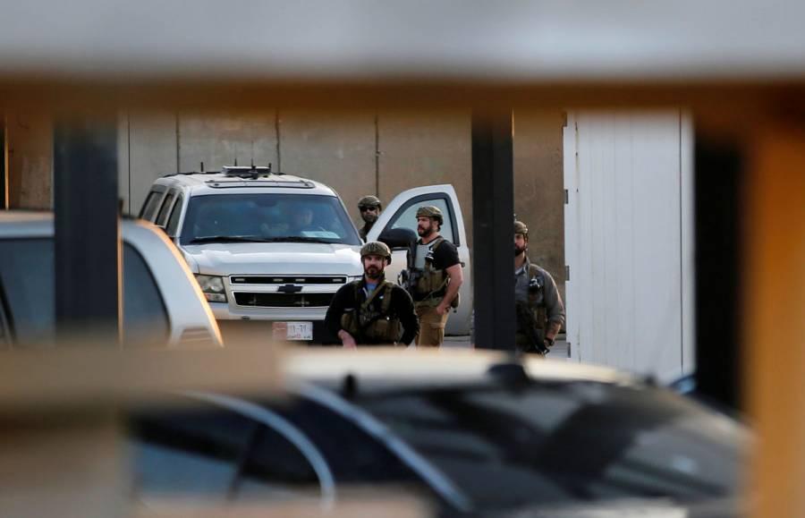 Personal diplomático abandona embajada de EU en Irak