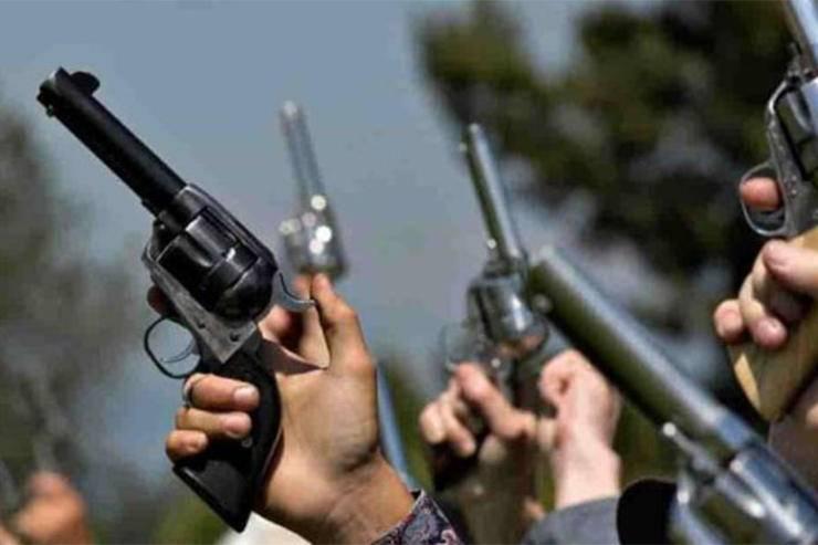 Advierten que disparar un arma de fuego es un delito