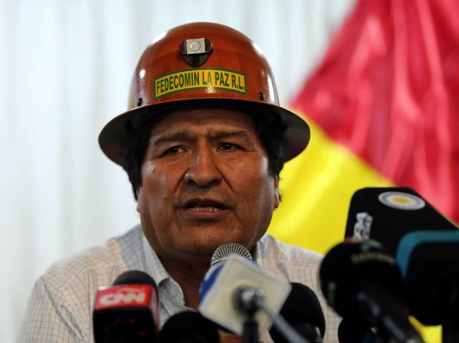 Evo Morales critica expulsión de diplomáticos en Bolivia