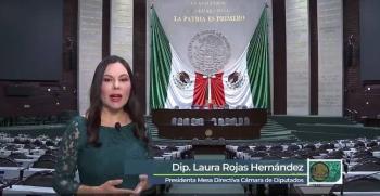 Se requiere el esfuerzo de todos para enfrentar los retos que se presentan a México: Rojas Hernández