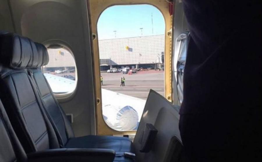 Desalojan avión de Delta en el AICM por desperfecto en una turbina