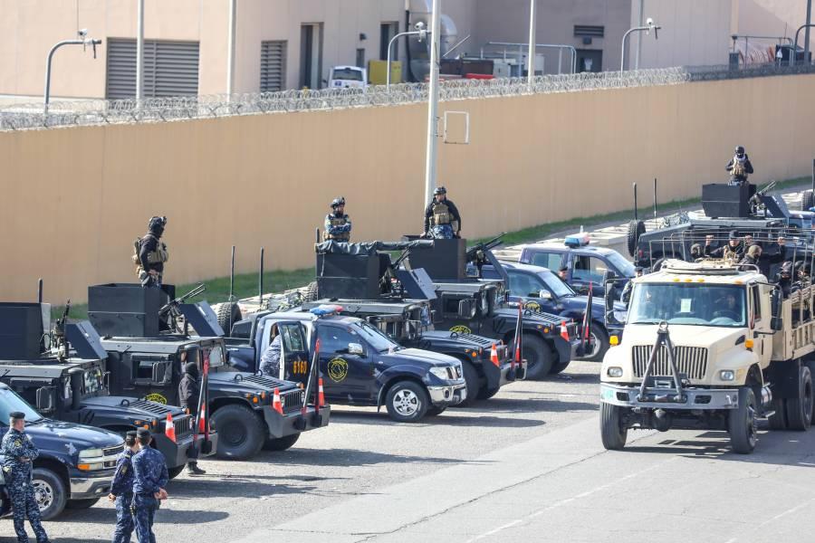 Suspenden asedio a la embajada de EU en Irak