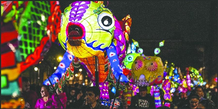 Alebrijes iluminan los festejos por Día de Reyes