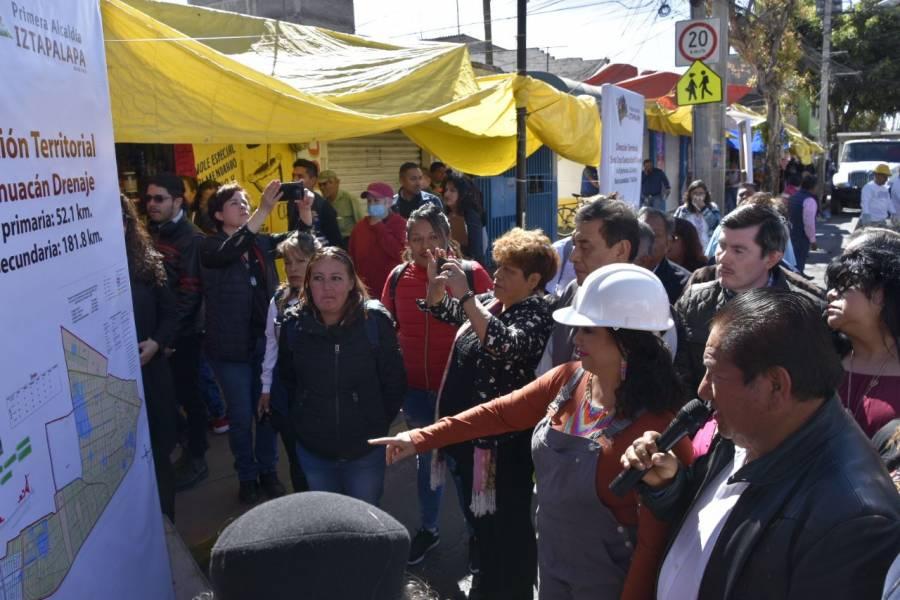 Inicia programa de desazolve en Iztapalapa con apoyo del gobierno de la CDMX
