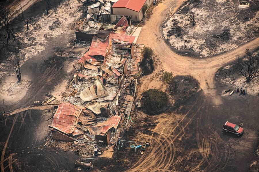 Australia ordena la evacuación de ciudades por ola de calor