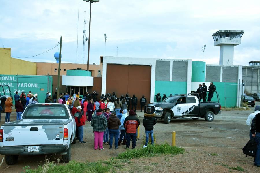 Informan de una nueva riña en el penal de Cieneguillas, Zacatecas
