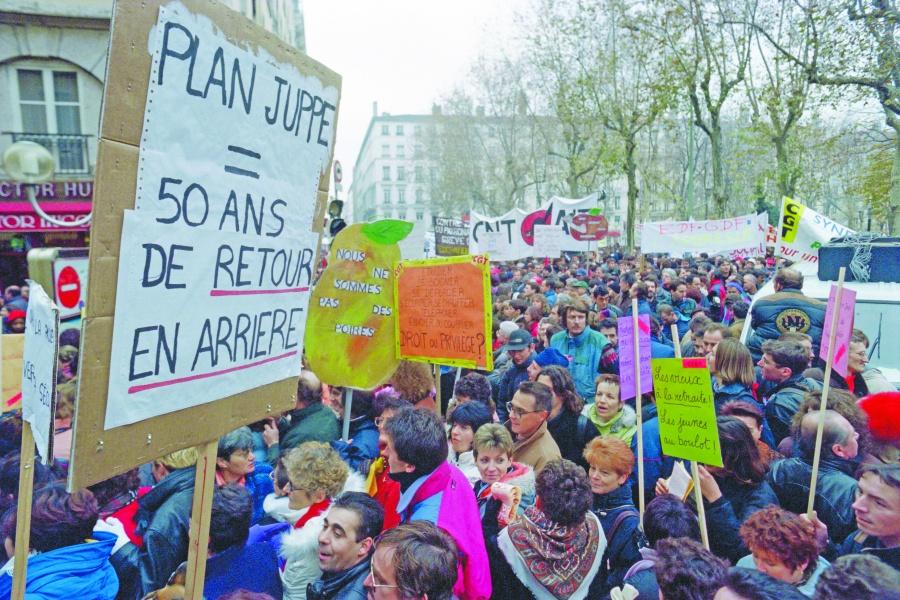 Huelga en Francia cumple 29  días, la más larga de la historia