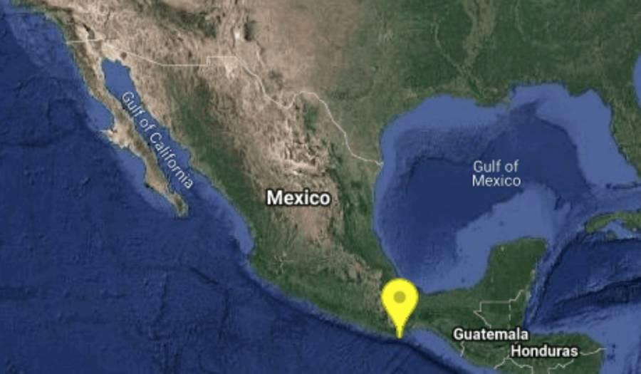 Sismo de 4.3 grados sorprende a pobladores y turistas de Huatulco