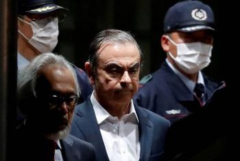 Interpol emite orden de arresto contra Ghosn