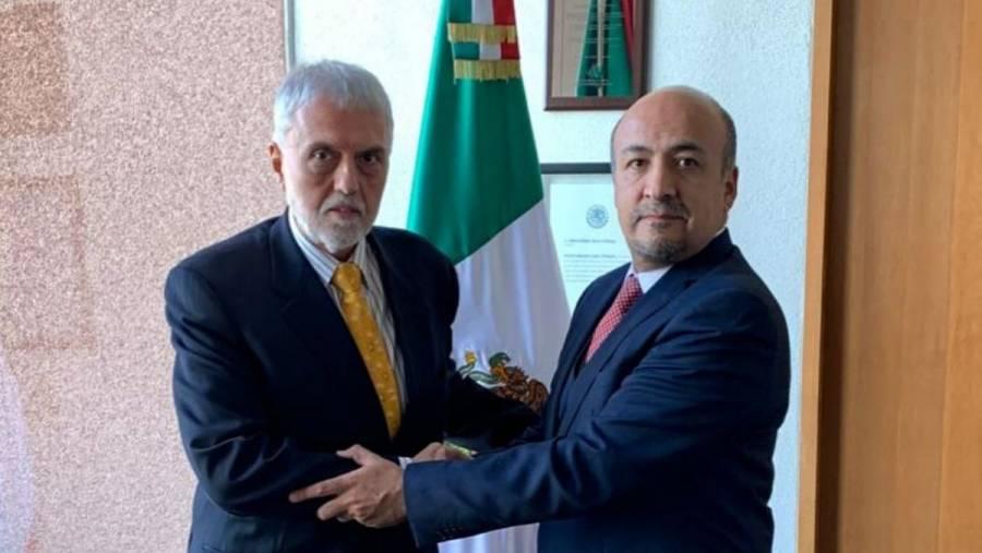 México envía a nuevo encargado de Negocios en Bolivia