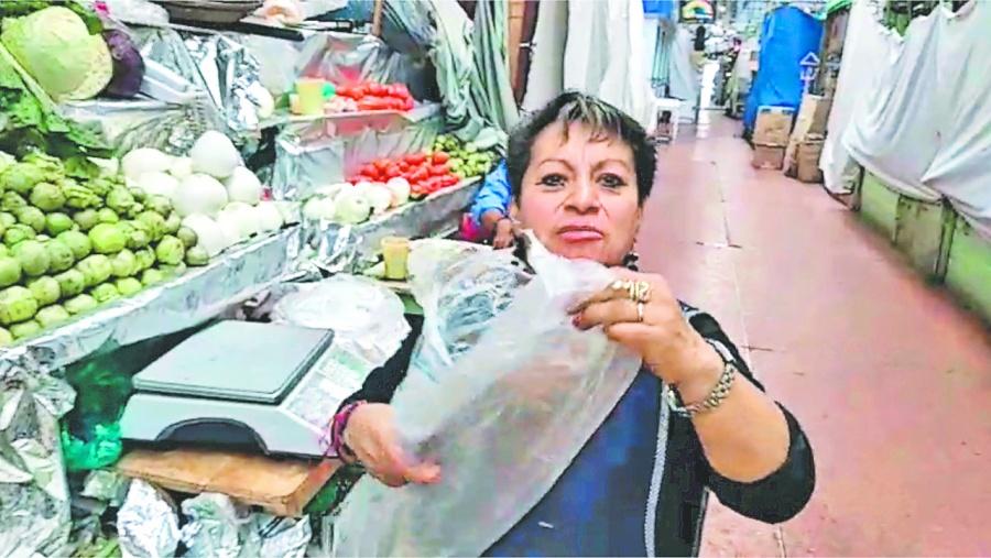 Hay desconcierto en el uso de bolsas de plástico