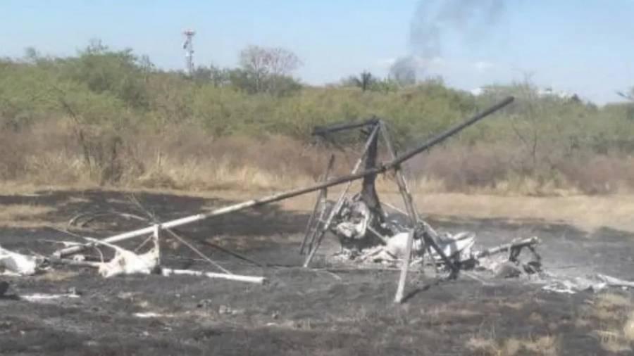 Muere alcalde de Ocuilan, Edomex, en accidente aéreo