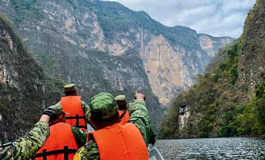 Retoman la actividad turística en el Cañón del Sumidero