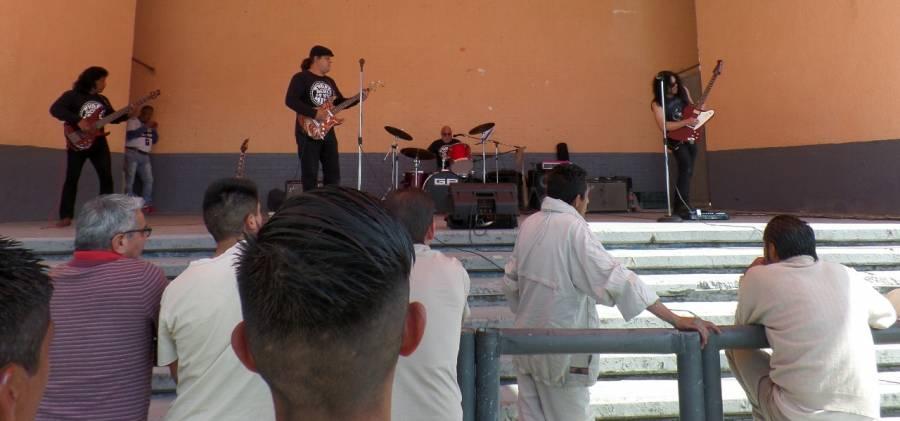 Three souls in my mind ofrece conciertos en reclusorios de la CDMX