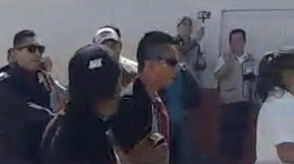 Sancionarán a policía por asistir armado a evento de AMLO en Morelos