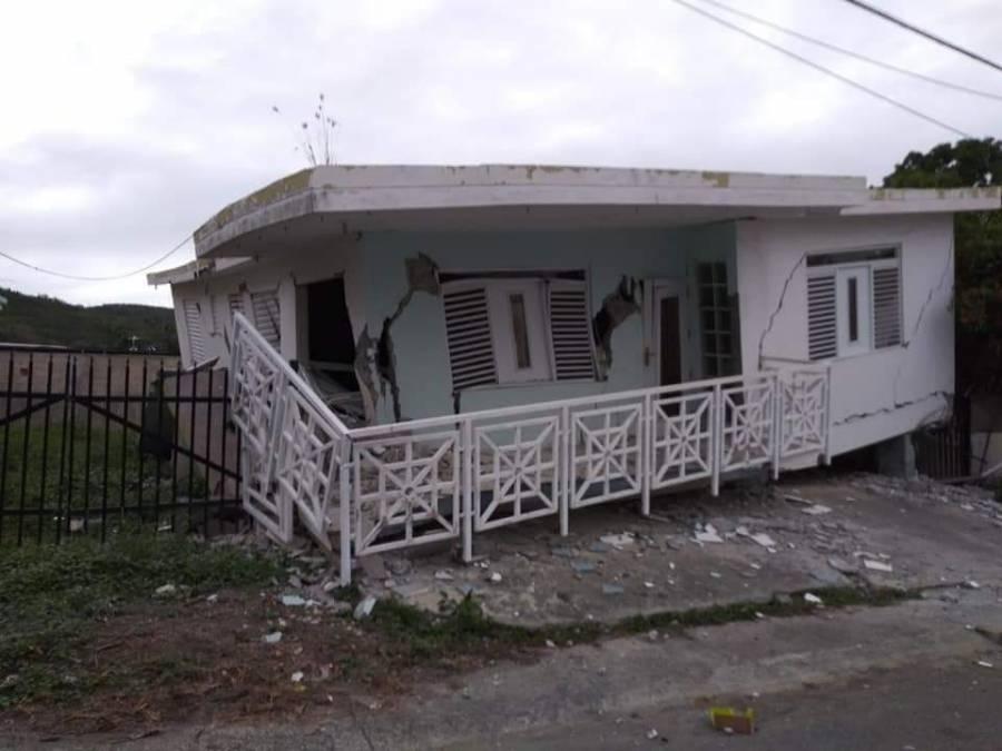 Sismo de 5.7 grados causa serios daños en Puerto Rico