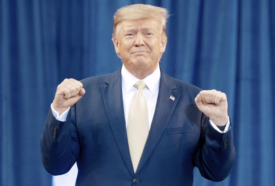 Trump inicia carrera por la  reelección con ventaja económica