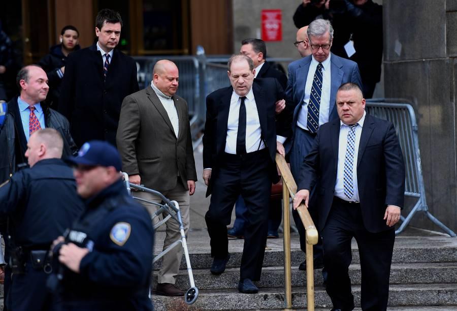 Comienza en Nueva York el juicio de Harvey Weinstein por delitos sexuales