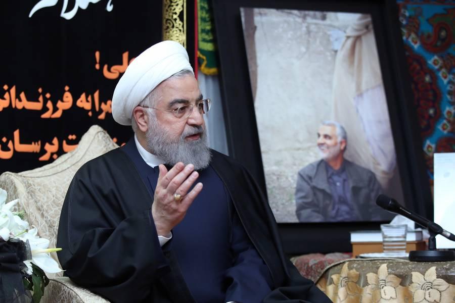 Presidente de Irán responde a amenazas de Donald Trump