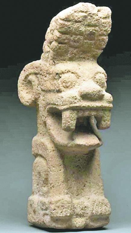 En Francia otra vez venden arte precolombino.