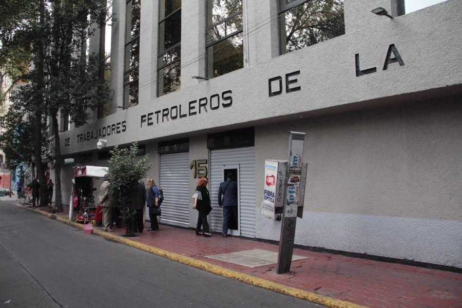 STPS: tres personas disputan dirigencia del sindicato petrolero