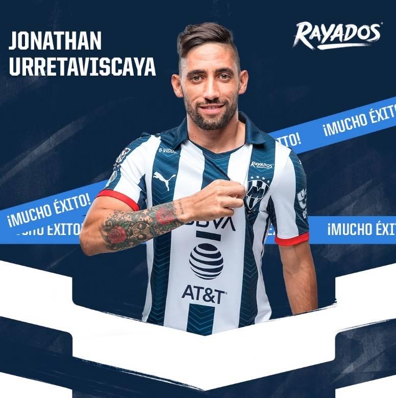 Rayados anuncia la salida de Urretaviscaya rumbo al Peñarol