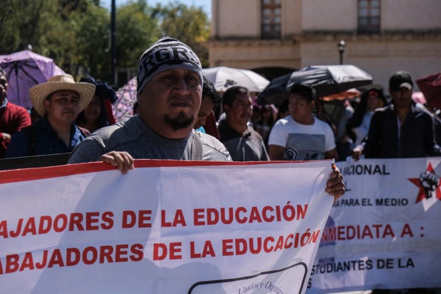 Analiza CNTE relevo democrático en su dirigencia