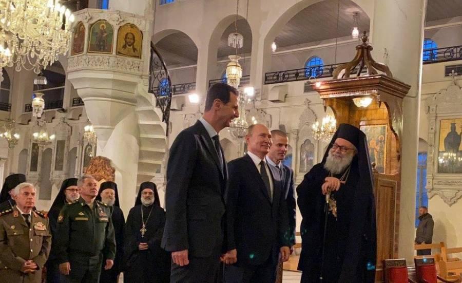 Tras inusual visita a Siria, Putin se reúne con Assad