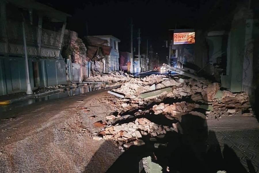 Terremoto de magnitud 6.5 remece Puerto Rico; activan alerta de tsunami