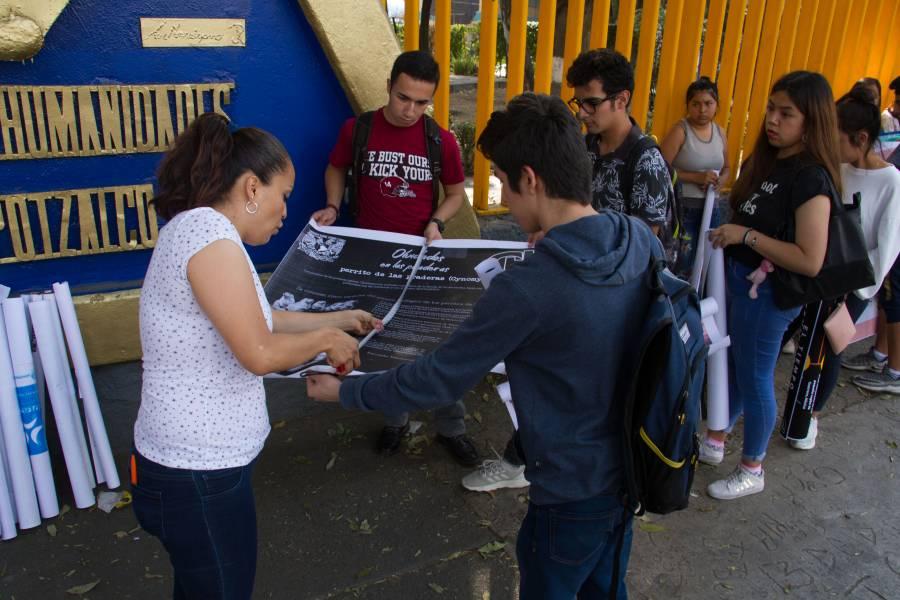 Muere estudiante por falla respiratoria en salón del CCH Azcapotzalco