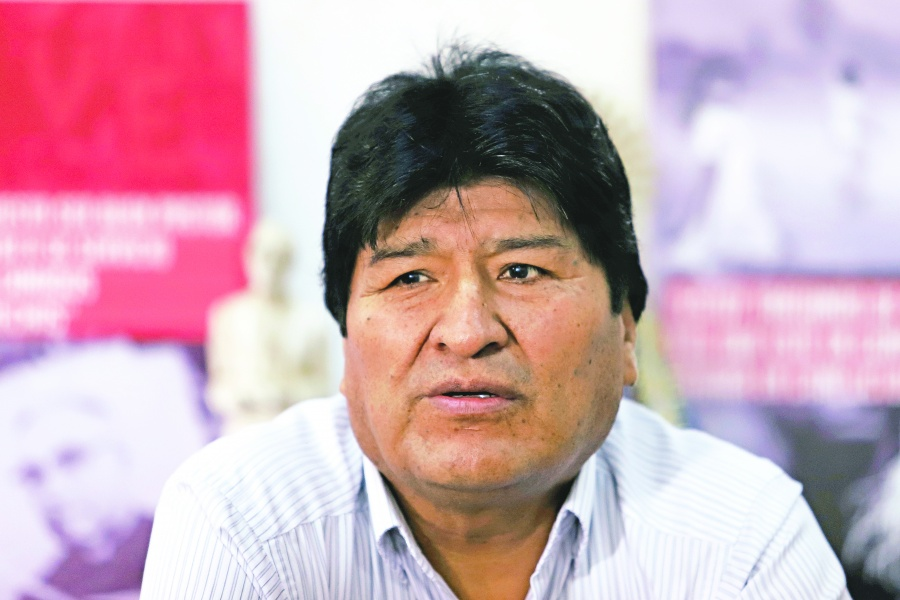 Buscan impedir viaje de Evo Morales a Chile
