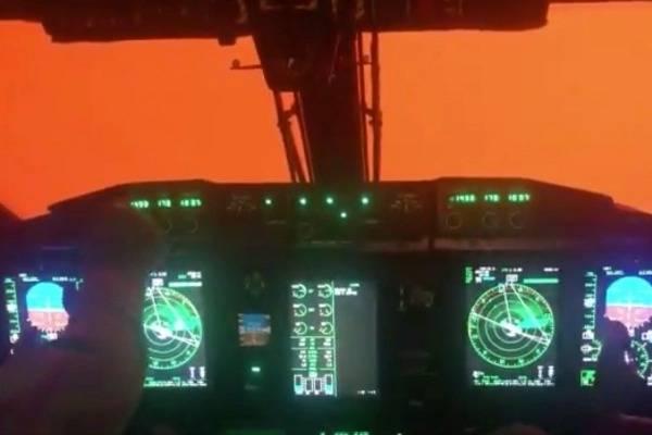 Video aéreo muestra el color del cielo de Australia luego de los incendios