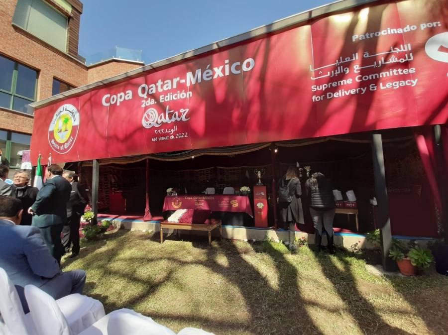Presentan segunda edición de la Copa Qatar-México