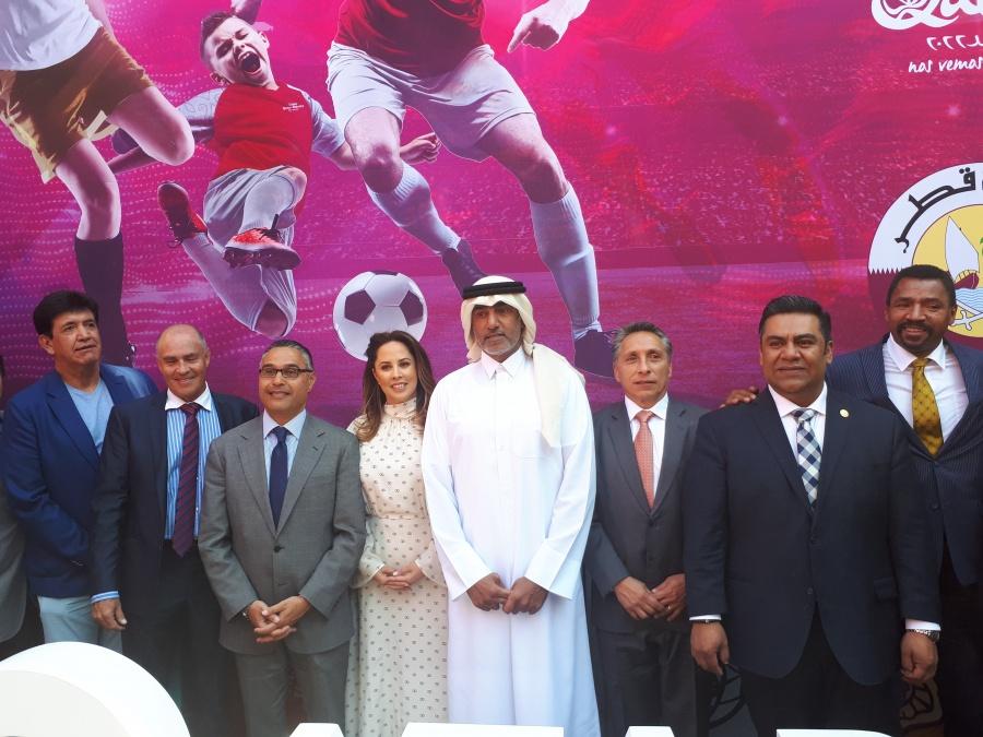 """Embajador de Qatar muestra optimismo; """"es un Mundial único"""""""