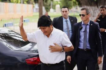 Desde Argentina, Evo Morales rendirá su último informe