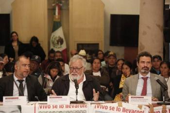 Reinstalan GIEI en investigaciones de caso Ayotzinapa